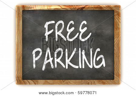 Blackboard Free Parking