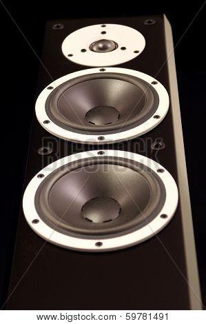 Black Audio Speakers