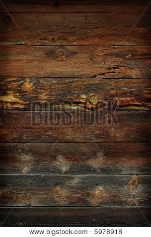 Grunge Old Wooden Planks Background