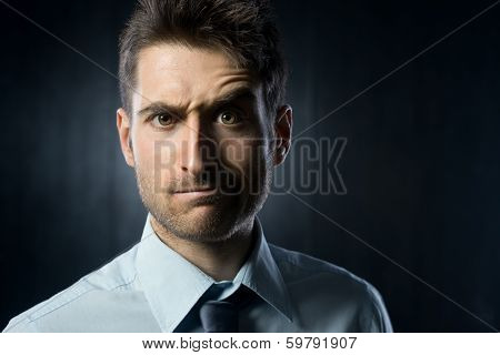 Confused Businessman
