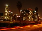 Los Angeles in der Nacht