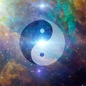 stock photo of karma  - Yin Yang Celestial - JPG