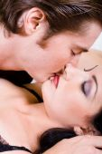 Постер, плакат: Поцелуй