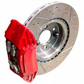 picture of calipers  - Mechanism of automobile disc brakes - JPG