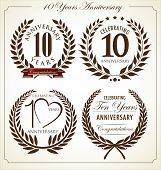 pic of laurel  - Anniversary laurel wreath - JPG