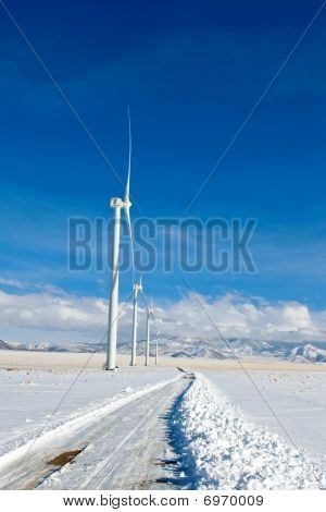 Road To Wind Farm