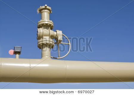Pipe And Valve