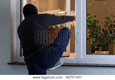 Burglary Into The House