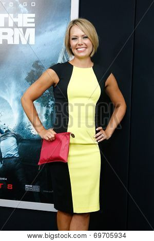 NEW YORK-AUG 4: Meteorologist Dylan Dreyer attends the
