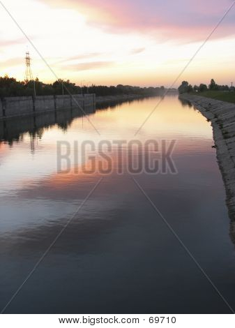 Shipping Lock Canal