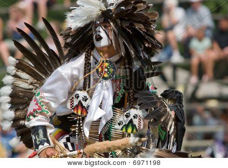 Powwow Traditional Dancer