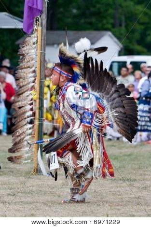 Powwow Traditional Dancer