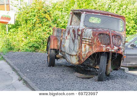 Truck, Pickup, Three-wheeler