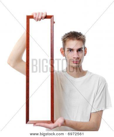 Holding Blank Long Frame