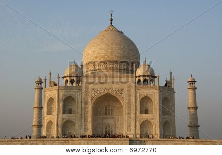 Mausoleum Taj Mahal  Is A  Located In Agra, India