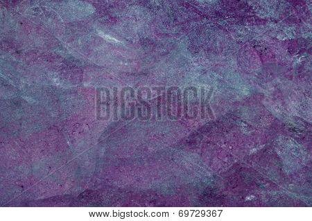 Purple With Blue Sparkle