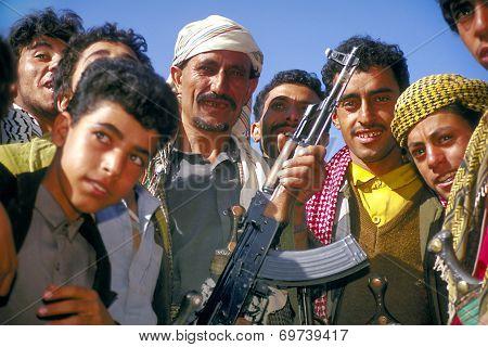 Man With Kalashnikov