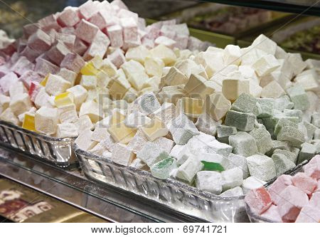 Turkish Delight In A Shop