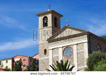 Church Of Stella Maris - Tellaro Liguria Italy