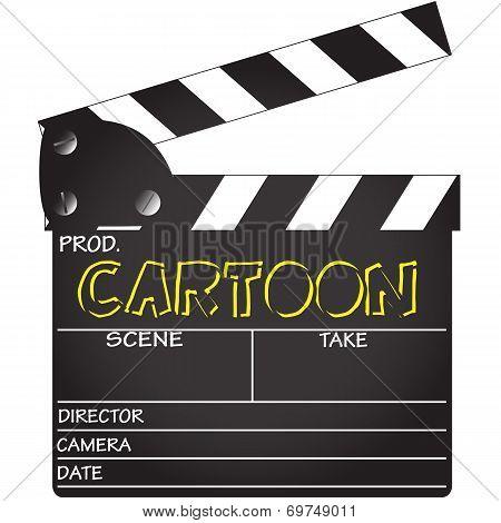 Cartoon Clapper Board