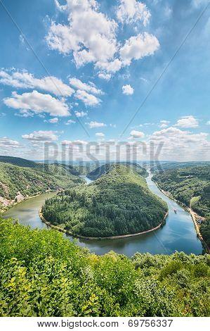 Saar River Bend - Saarschleife