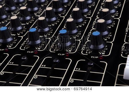 Mixer Close-up