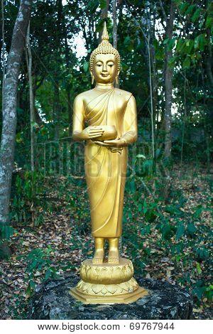 Buddhist Sculpture - Buddha Holding An Alms Bowl