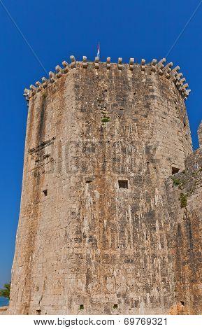 Donjon Of Kamerlengo Castle (1437). Trogir, Croatia