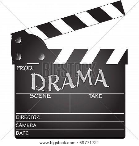 Drama Clapper Board