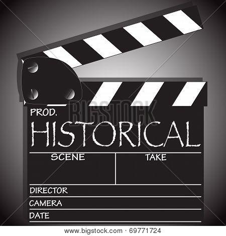 Historical Clapper Board