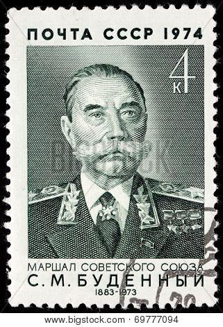 Semyon Budyonny Stamp
