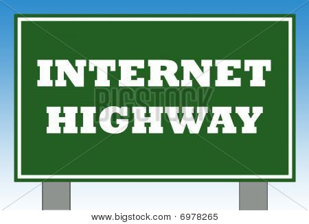 Internet Search Sign
