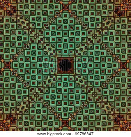 Fractal Rhomb Grid
