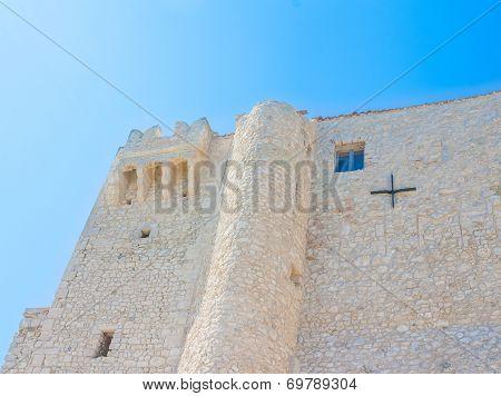 Castle Of Badiali Island Of San Nicola