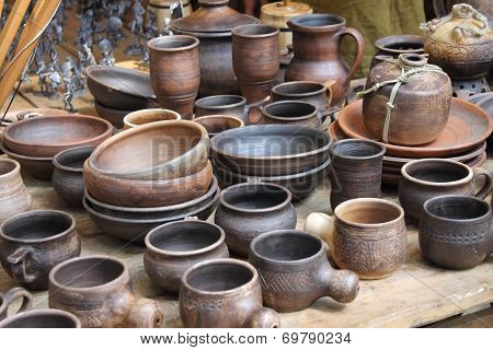Crockery Early Middle Ages