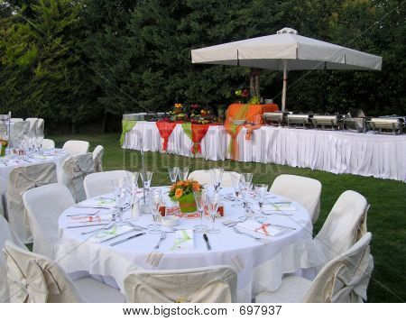 Catering Reception With Buffet