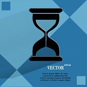 foto of sand timer  - Sand clock - JPG