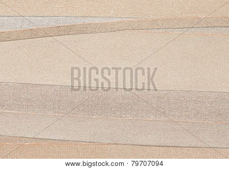 High Resolution Background Brown In A Multicolored Striped Laminate - Stock Image