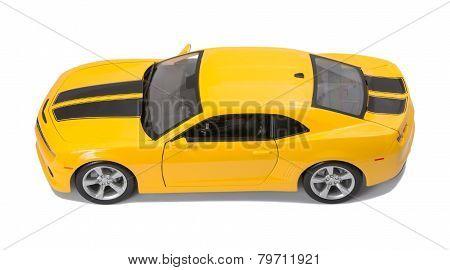 New Yellow Model Car