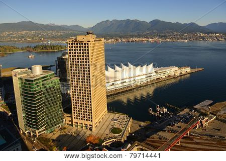 Vancouver City Skyline, BC, Canada