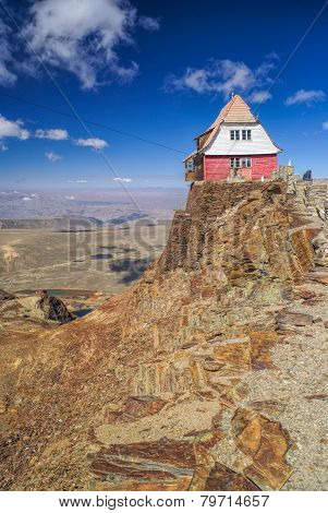 Hut On Chacaltaya
