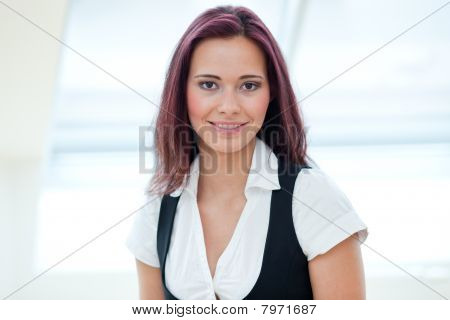Young Female Employee