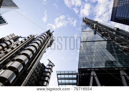 Lloyd's of London & Leadenhall Building