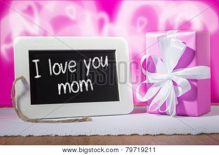 Slate Blackboard Mother Day