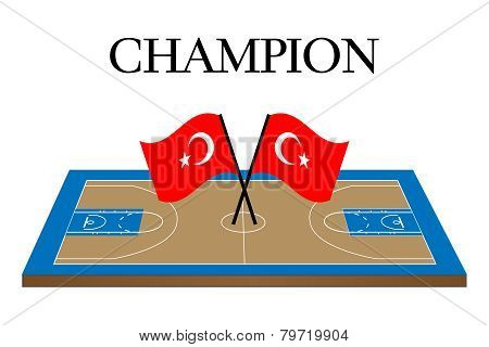 Basketball Champion Turkey