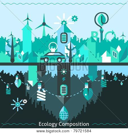 Ecology And Recycling Composition
