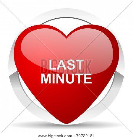 last minute valentine icon