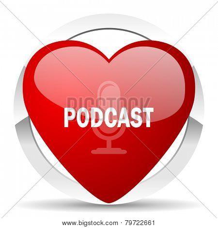 podcast valentine icon