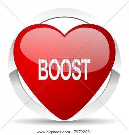 boost valentine icon