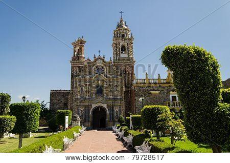 Santa Maria church in Tonantzintla